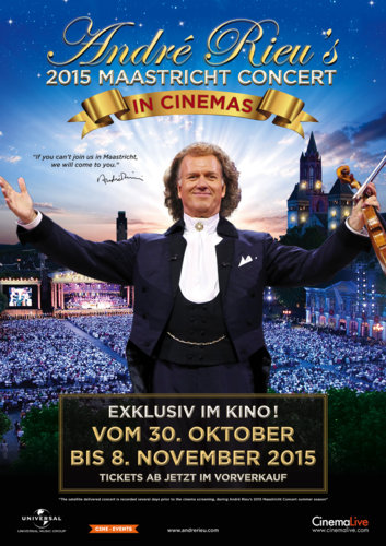 André Rieu's 2015 Maastricht concert