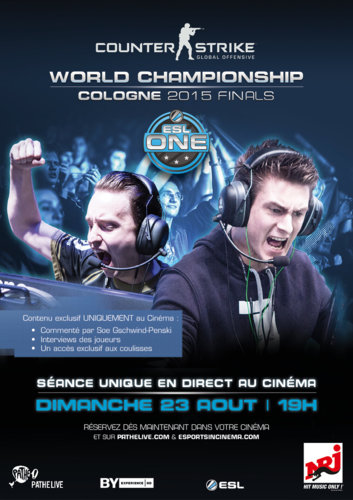 eSPORTS : ESL ONE – COUNTER STRIKE : GO