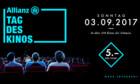 Für einen Fünfliber ins Kino: Der «Allianz Tag des Kinos» macht's möglich