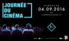 Journée du cinéma – Dimanche 4 septembre 2016