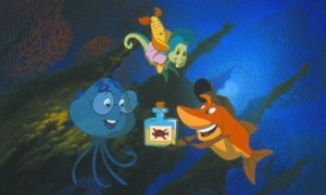 Gloups je suis un poisson