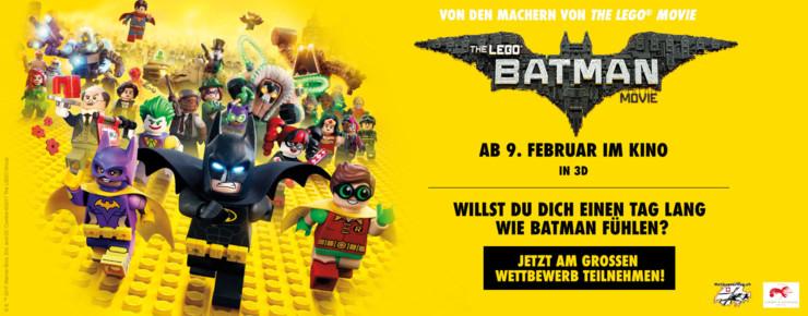 Wettbewerb: THE LEGO® BATMAN MOVIE