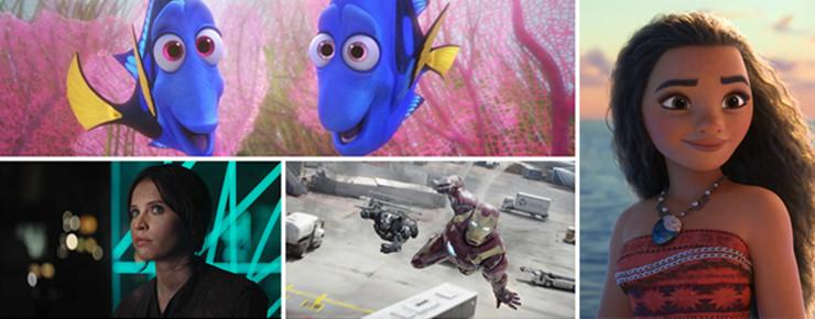News: Die Kurznews vom 7. Dezember: 2016 ist erfolgreichstes Jahr für Disney