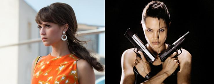 News: Alicia Vikander als Grabräuberin Lara Croft