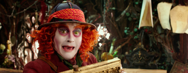 Interview: Johnny Depp zu «Alice Through the Looking Glass»