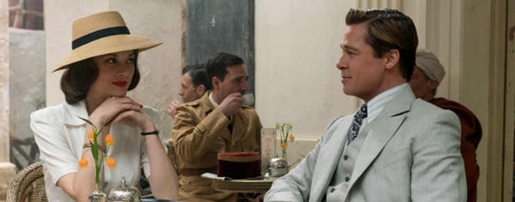 First Look: Marion Cotillard und Brad Pitt in «Allied»