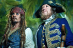 Pirates of the Caribbean: On Stranger Tides (2011) - Johnny Depp, Geoffrey Rush