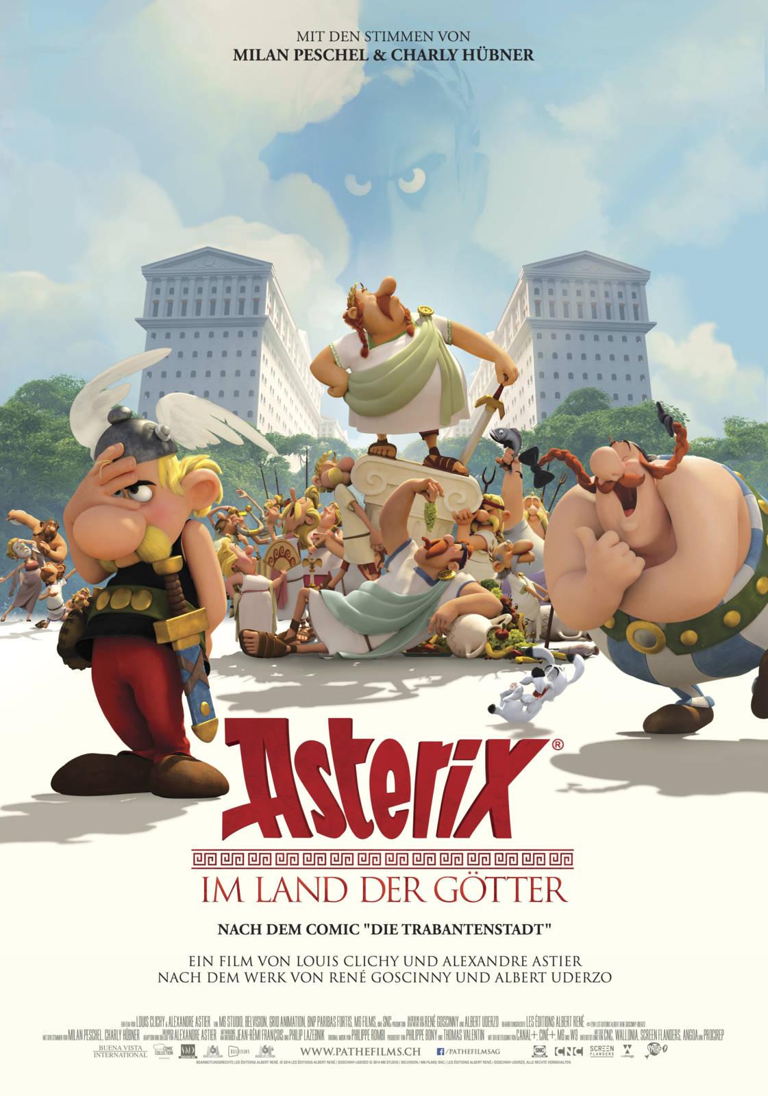 Asterix Im Land Der Götter Musik