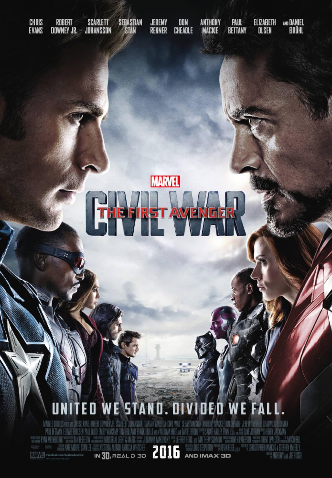 Film Captain America Civil War   Cineman