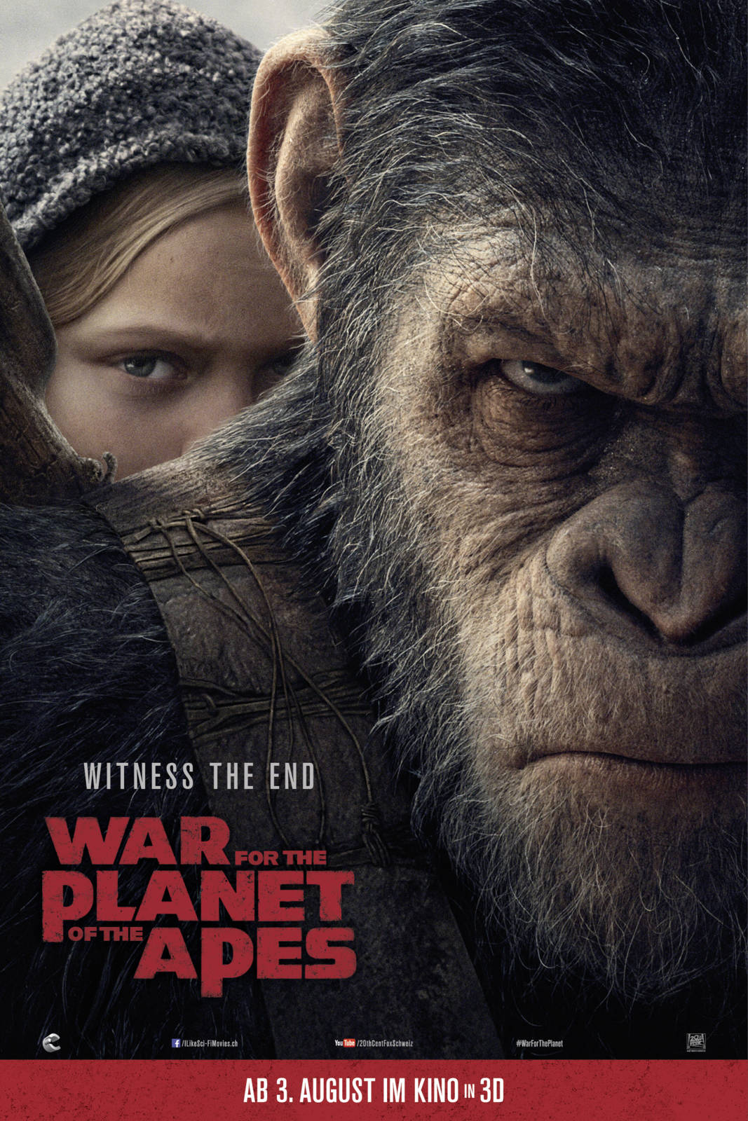 Movie war for the planet of the apes cineman war for the planet of the apes publicscrutiny Gallery