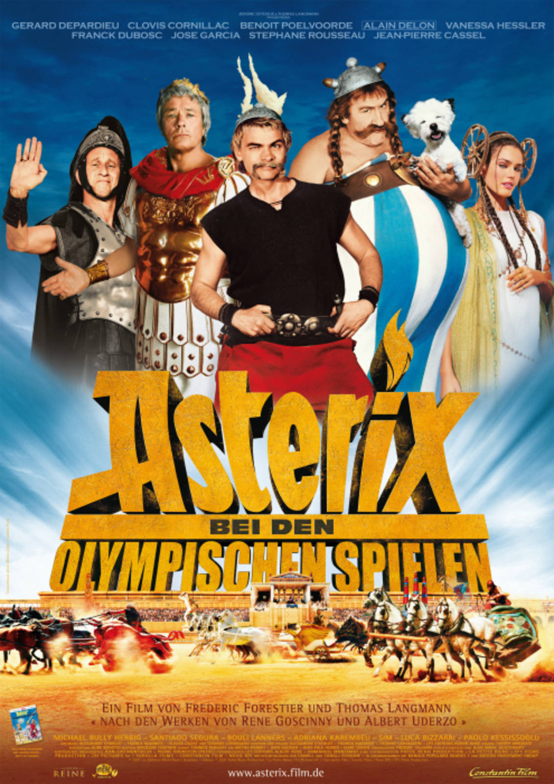 Asterix Und Obelix Olympische Spiele Schauspieler