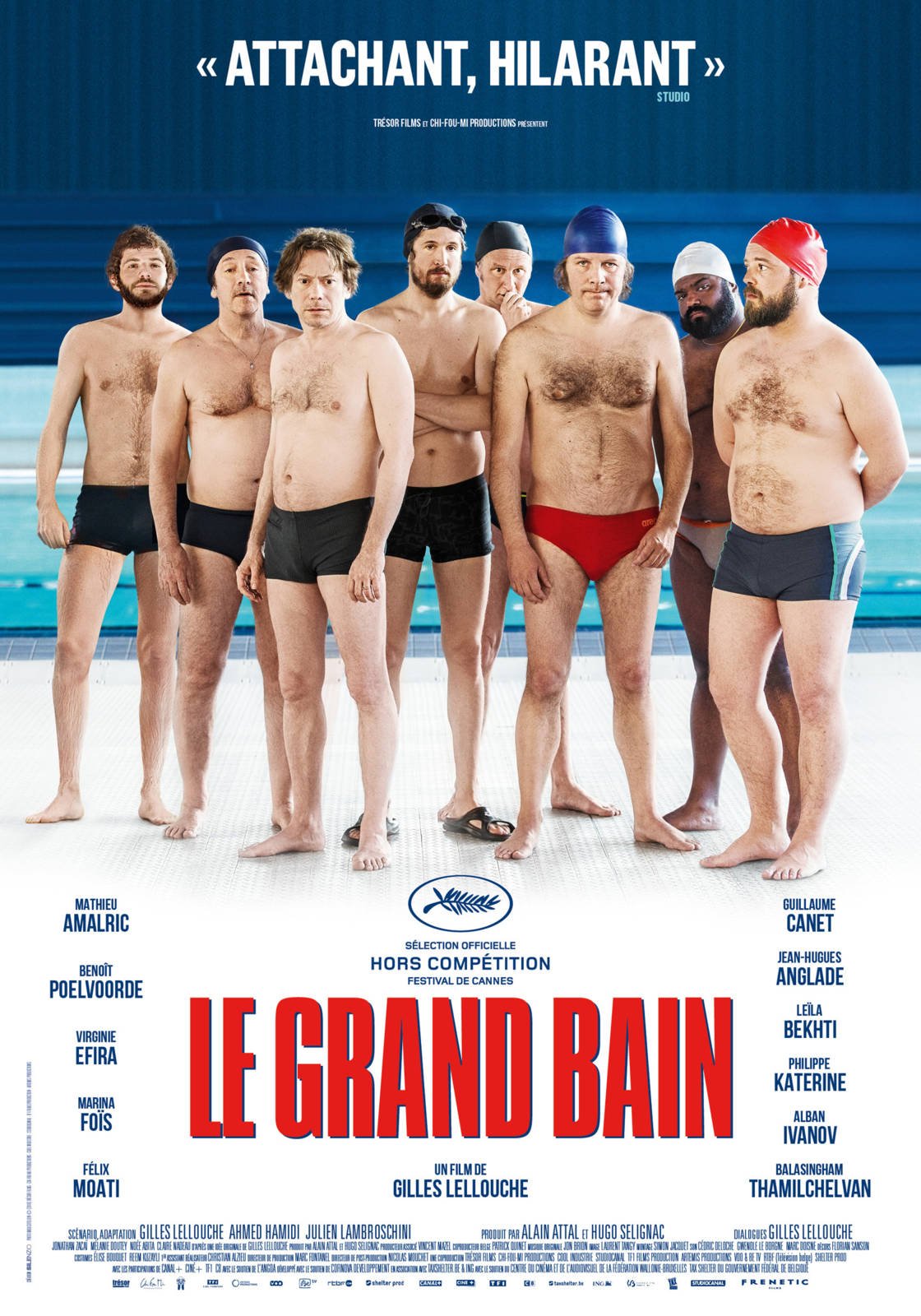 Film Le Grand Bain - Cineman