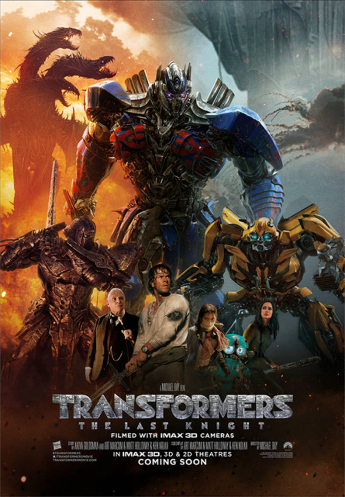 movie transformers: the last knight - cineman