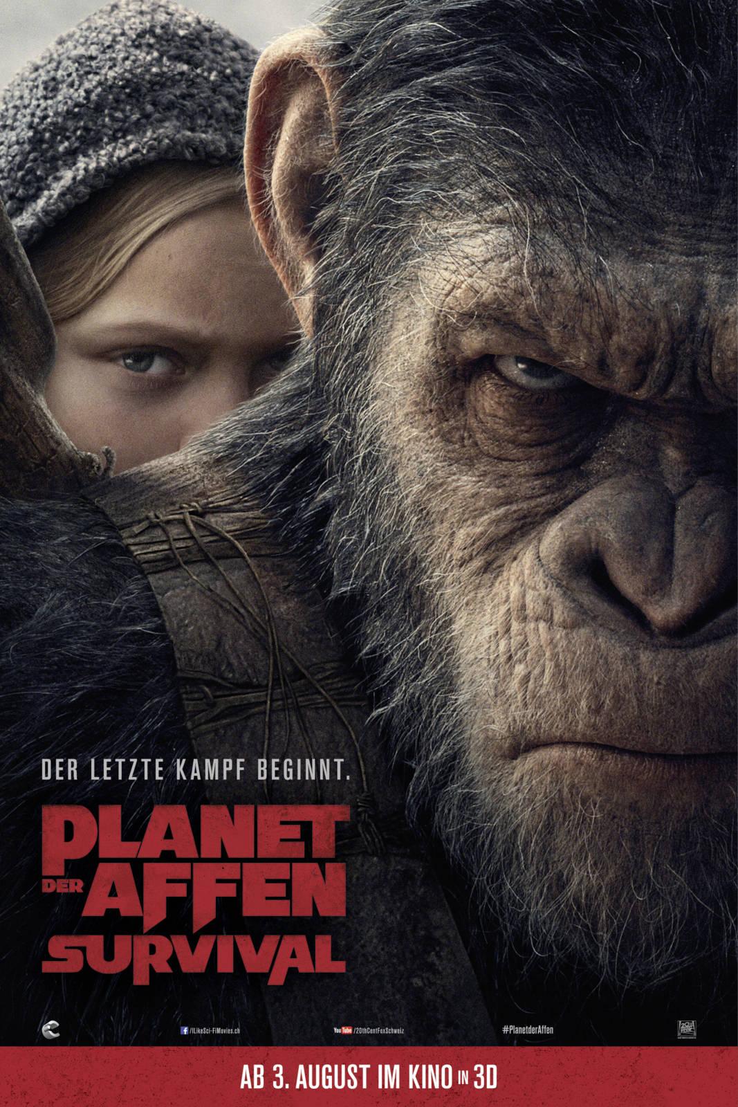 Planet Der Affen Survival Trailer