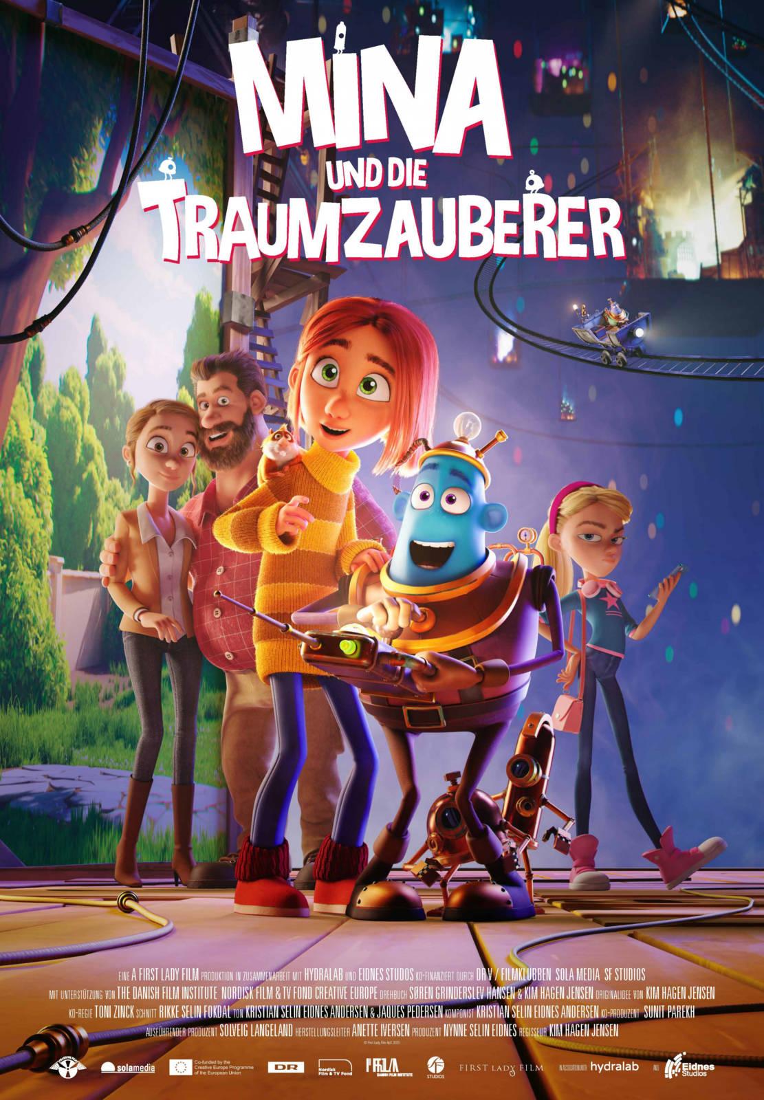MINA UND DIE TRAUMZAUBERER   Trailer   deutsch/german - YouTube