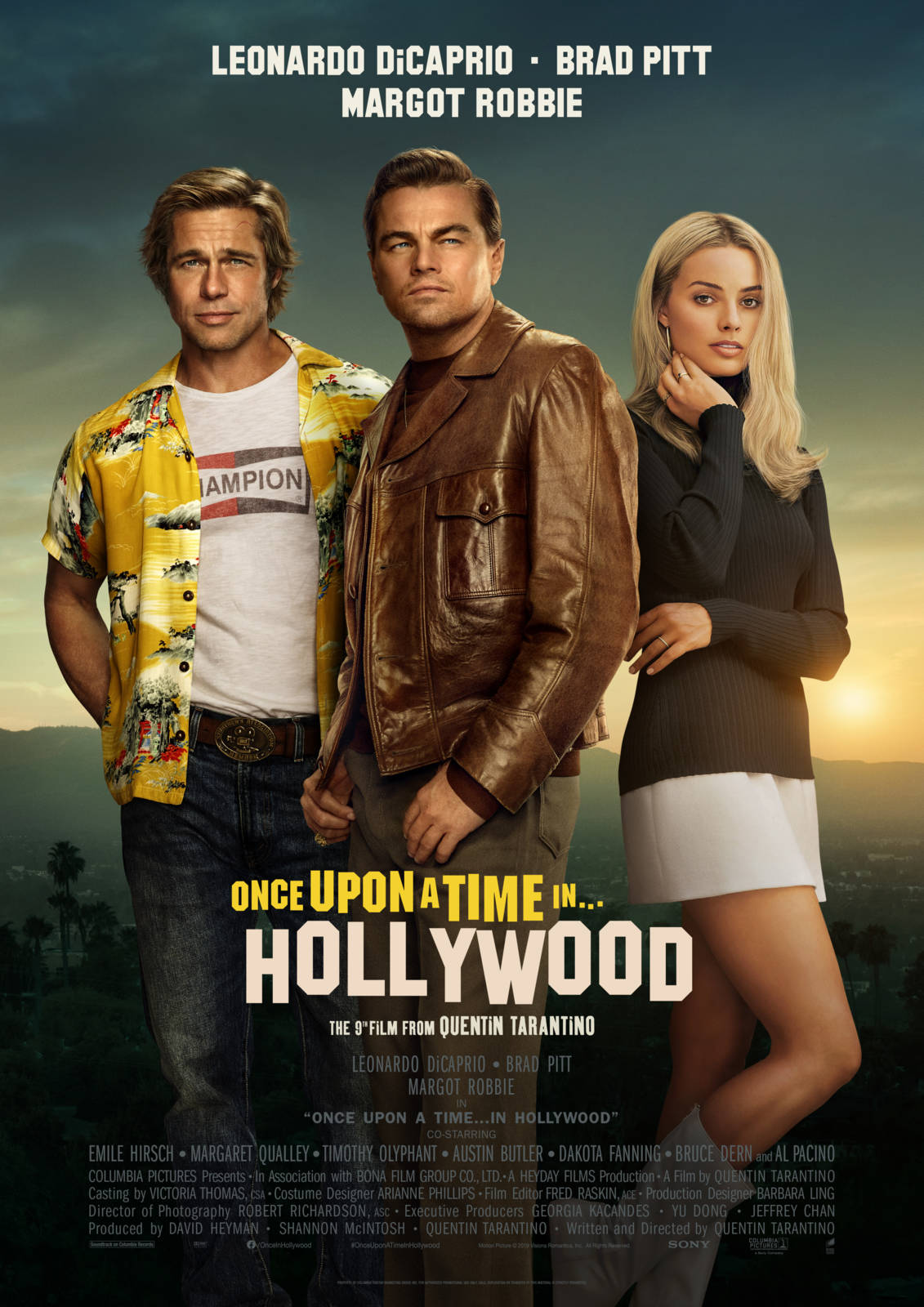 "Résultat de recherche d'images pour ""Once upon a time in Hollywood"""
