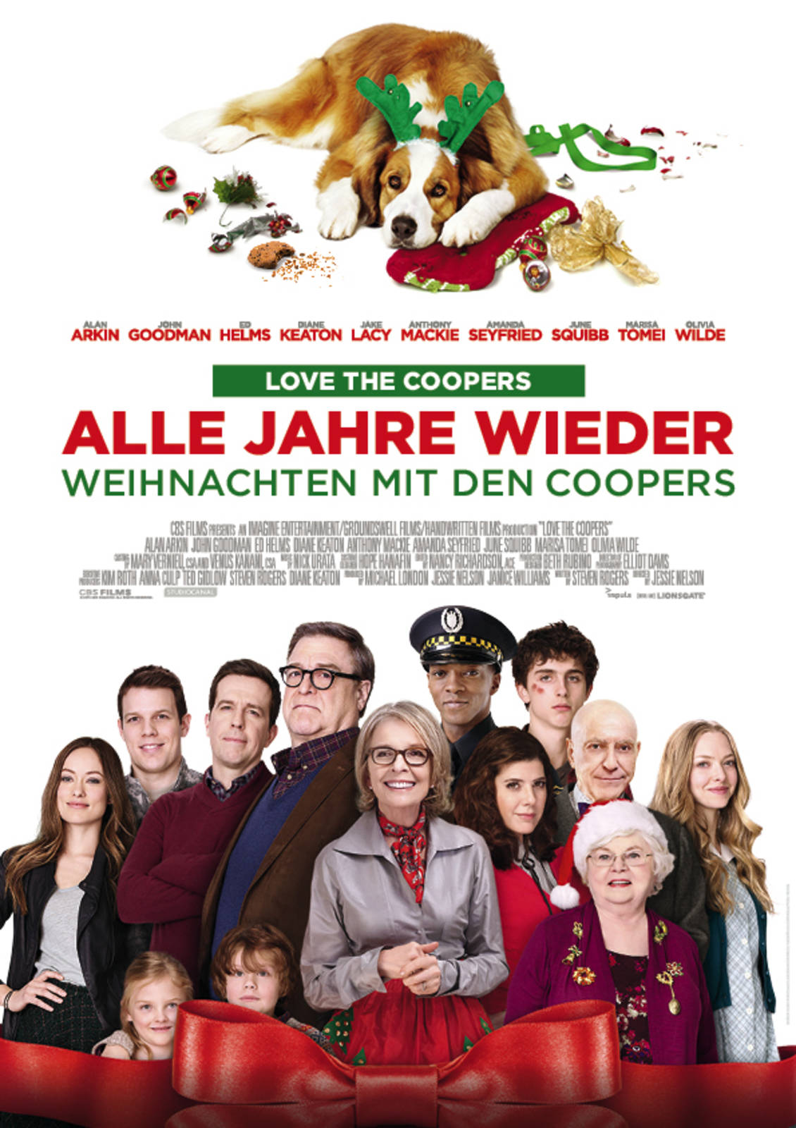 film alle jahre wieder weihnachten mit den coopers cineman. Black Bedroom Furniture Sets. Home Design Ideas