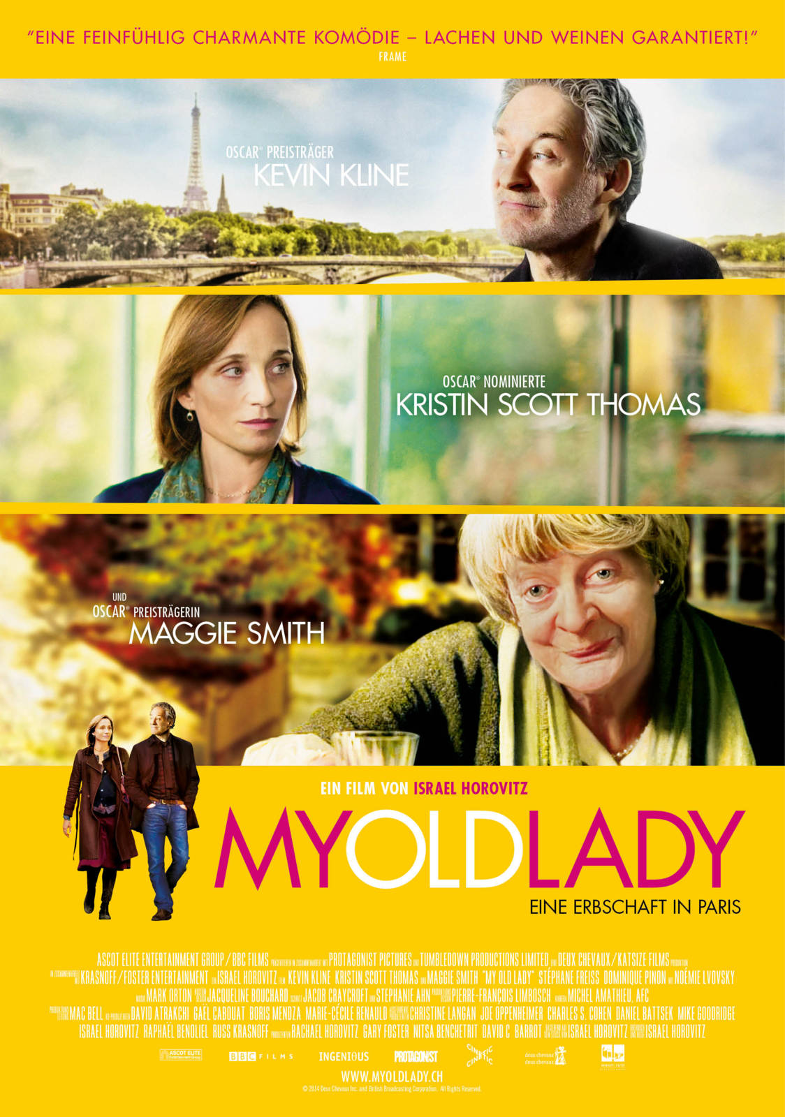 Film My Old Lady - Cineman