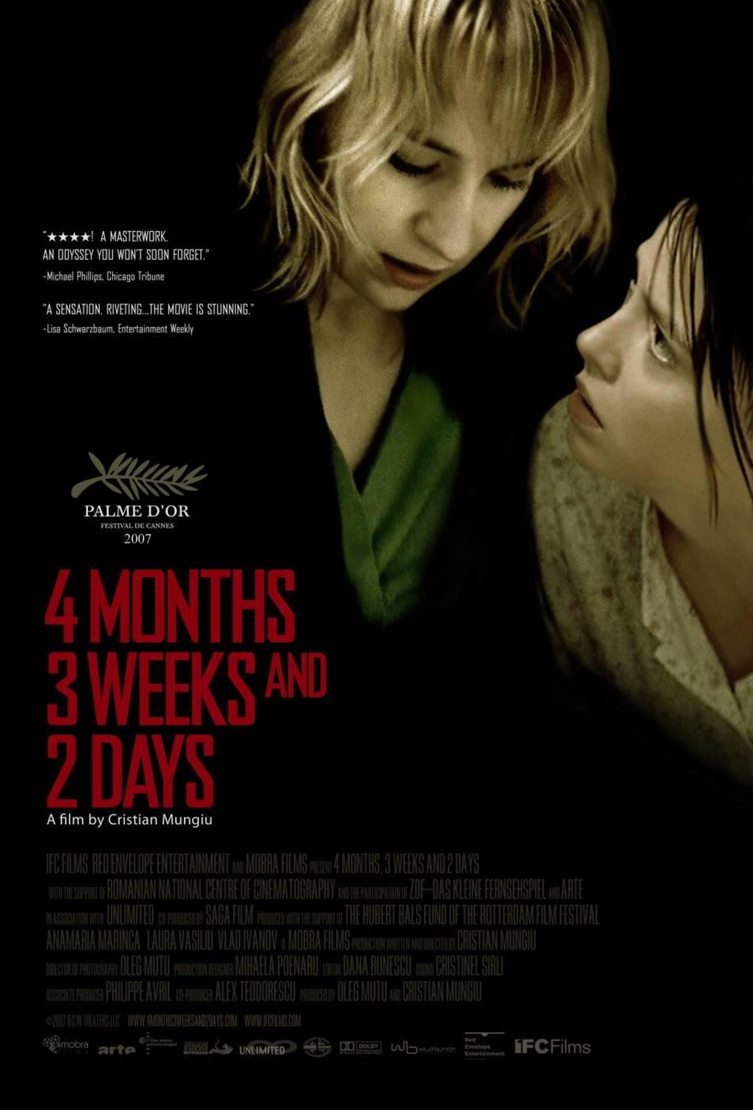 4 Monate, 3 Wochen Und 2 Tage
