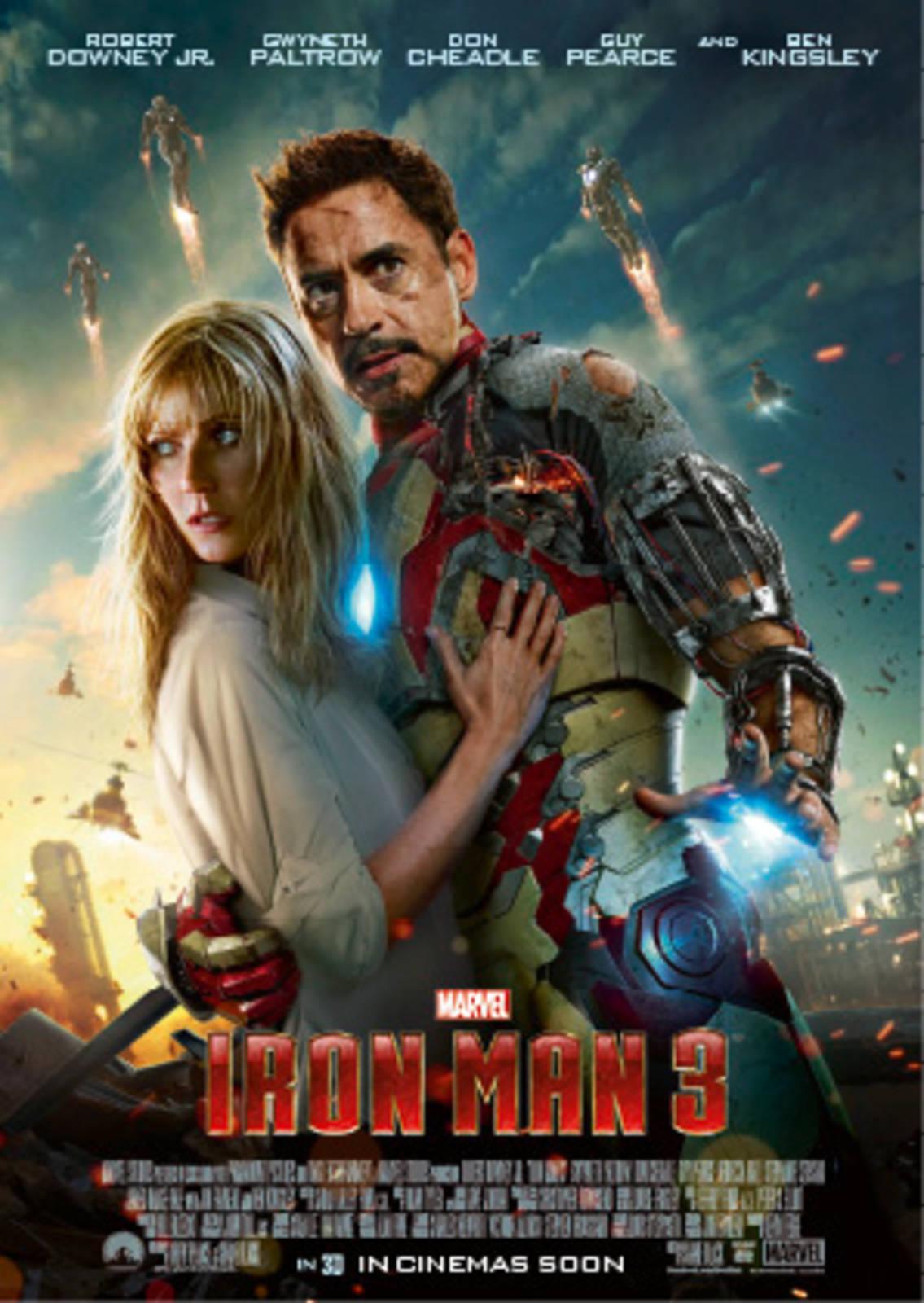 movie iron man 3 - cineman