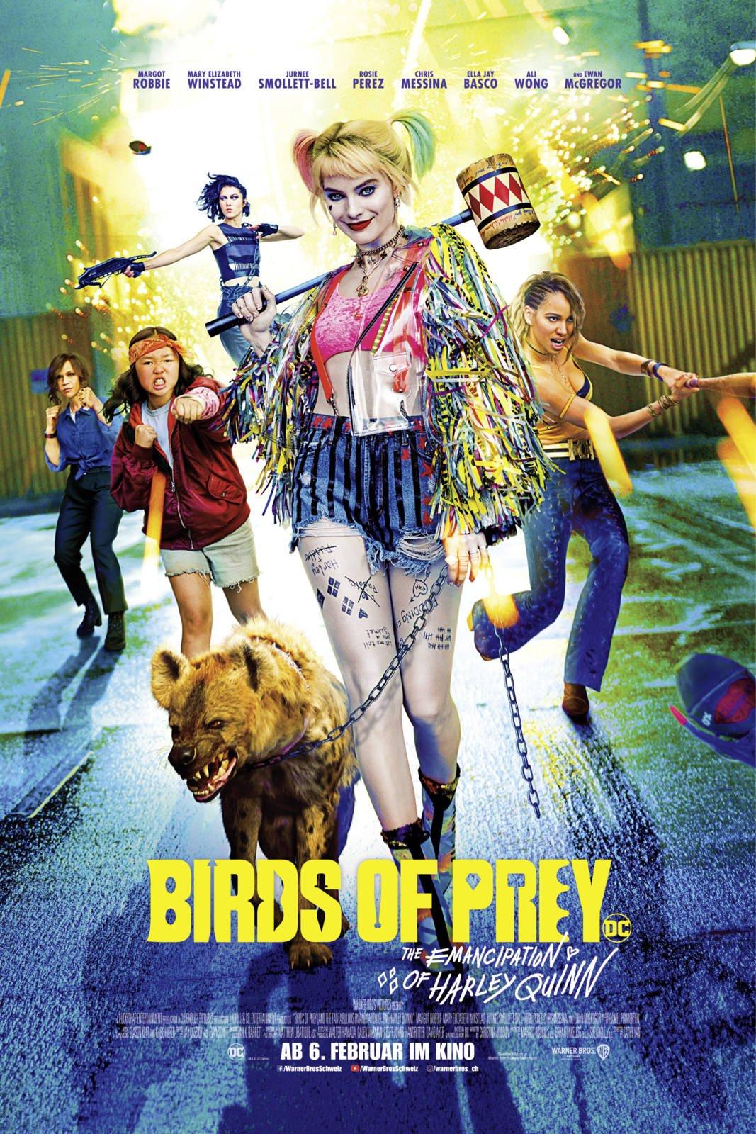 Film Birds of Prey: The Emancipation of Harley Quinn - Cineman