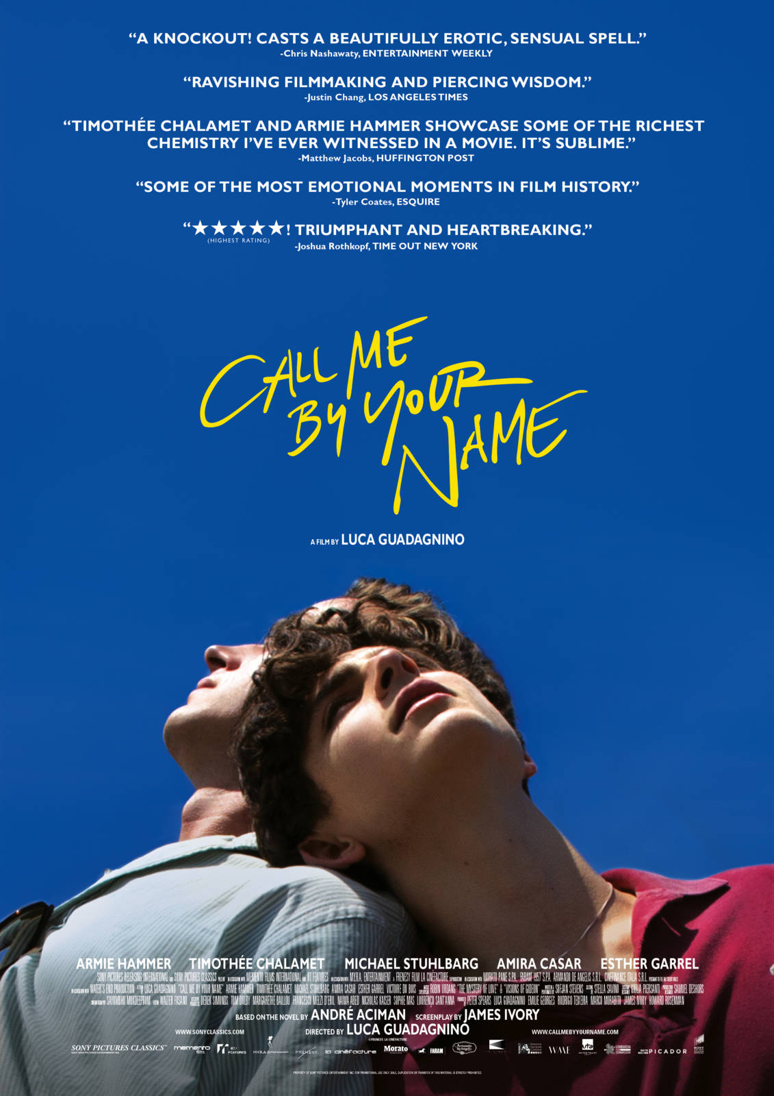 Film Call Me By Your Name Cineman