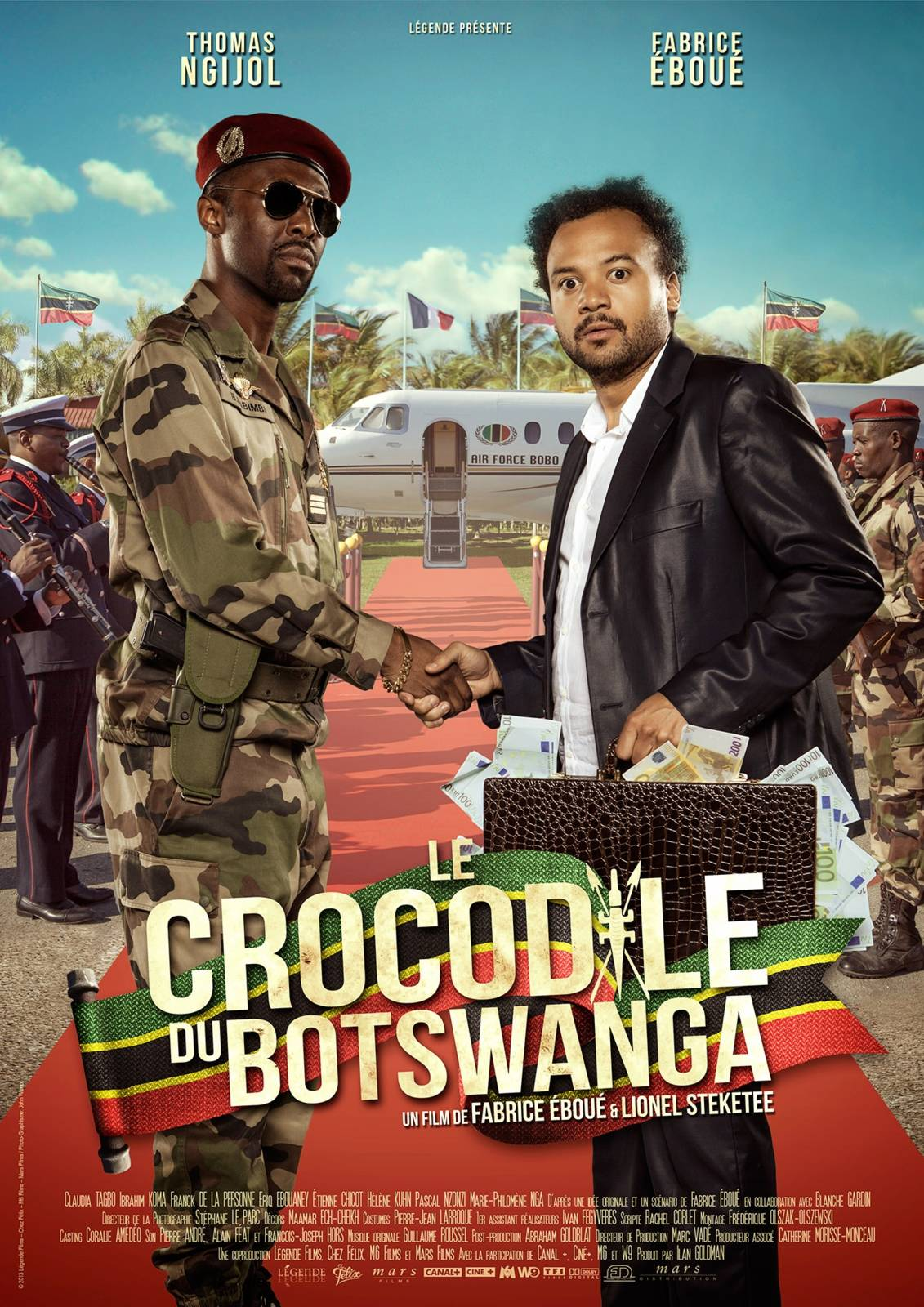 crocodile du botswanga film