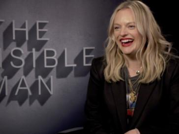 """Elisabeth Moss sur «Invisible Man»: """"J'irais à Disney Land sans faire la queue !"""""""