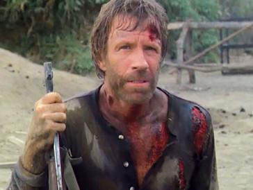 Für Chuck Norris scheint alles ein Kinderspiel zu sein.