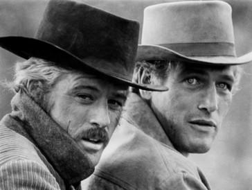 The Sundance Kid und Butch Cassidy: Robert Redford (links) und Paul Newman in «Zwei Banditen».