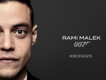 25. James-Bond-Film: Rami Malek ist der neue Bösewicht