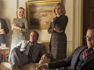 Ein Cast, der es in sich hat: Sam Rockwell (nicht im Bild), Amy Adams (rechts) und Christian Bale (Mitte) dürfen auf einen Oscar hoffen.