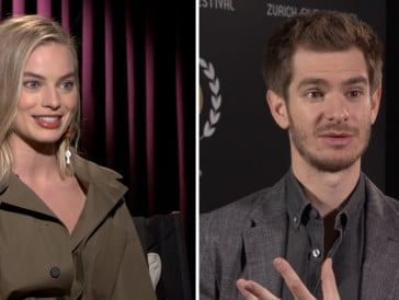 Interviews : Margot Robbie (I, Tonya) & Andrew Garfield (Breathe)
