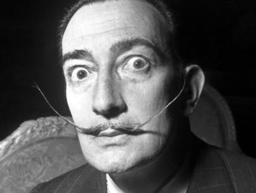 ...der Surrealist Salvador Dalí.