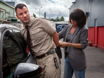 Michaël Youn et Florence Foresti dans «Lucky»