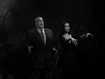 Tor Johnson and Maila Nurmi in Plan 9 from Outer Space (1959)