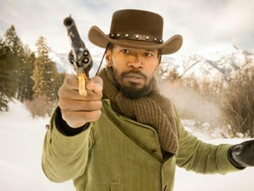 Rohe Gewalt ist sein Markenzeichen: Jamie Foxx in Tarantinos «Django Unchained».