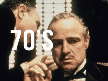 Le parrain de Francis Ford Coppola, Oscar du Meilleur film en 1973. La 2ème partie sera décorée en 1975 de la même récompense.