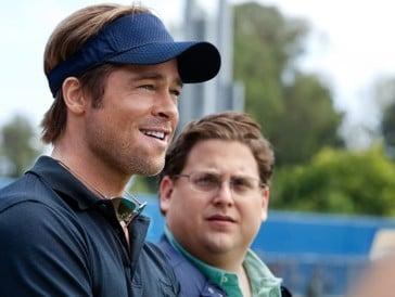 Brad Pitt und Jonah Hill in «Moneyball»