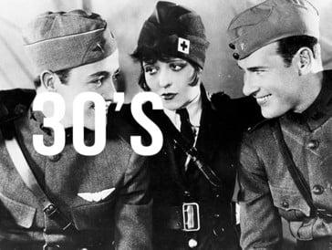 Wings de William A. Wellman & Harry d'Abbadie d'Arrast, premier film (muet) à remporter l'Oscar du Meilleur film lors de la première cérémonie en 1929.