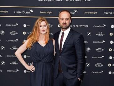 Lisa Brühlmann und ihr Mann Dominik Locher am ZFF 2017.
