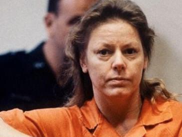 ...die US-Serienmörderin Aileen Wuornos.