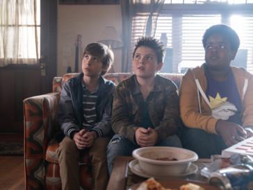 Sehen zwar harmlos aus, haben es aber faustdick hinter den Ohren: Die drei Jungs in Seth Rogens Komödie «Good Boys».