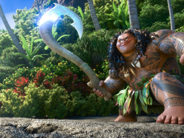 Der Halbgott Maui aus «Vaiana» ist Johnsons Grossvater nachempfunden.