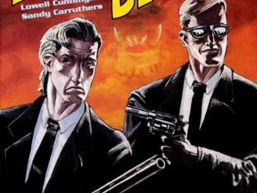 Das Konzept des Films basiert auf der Comic-Serie «Men in Black», die Verschwörungstheorien über schwarzgekleidete Agenten im Dienst amerikanischer Regierungsbehörden parodiert.