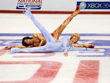 Das Enfant Terrible Chazz Michael Michaels und der Traumschwiegersohn Jimmy MacElroy als erstes männliches Eislaufpaar.