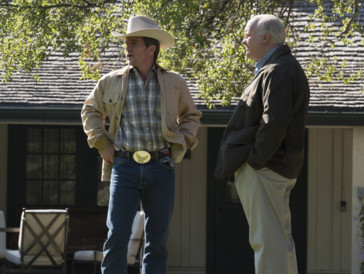 Auf dem Zenit seiner Karriere: Dick Cheney mit George W. Bush, verkörpert von Sam Rockwell.