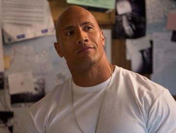 """Johnsons Beiname """"The Rock"""" kommt nicht von ungefähr."""