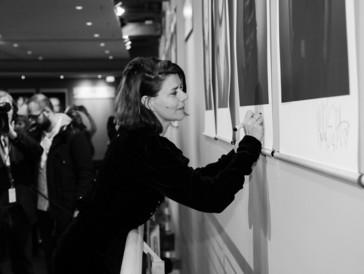 Die Regisseurin Małgorzata Szumowska an der Berlinale 2018.