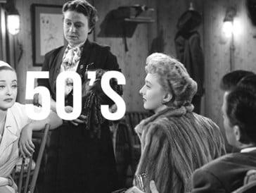 All About Eve de Joseph L. Mankiewicz, Oscar du Meilleur film en 1951